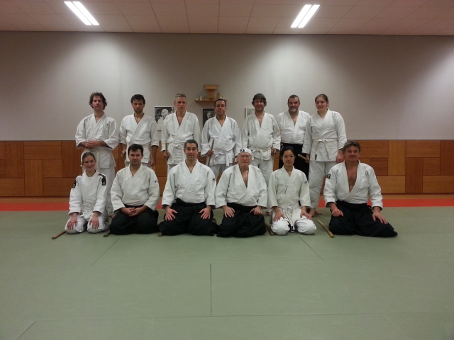 Aikido Stage 14-12-2012 met Dr. Leisinger