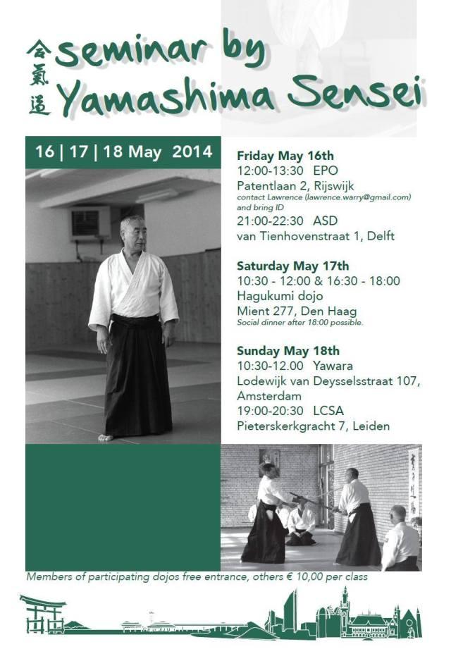 Takeshi Yamashima Sensei 16-18 Mei